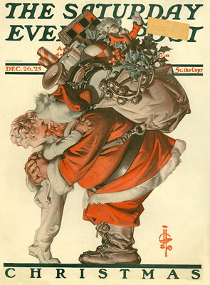 Santa in 1925