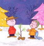 Canadian Press Photo:  A promotional image provided by ABC TV of Charlie Brown and Linus in a scene..