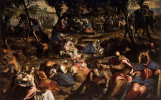 The Jews in the Desert (Tintoretto)
