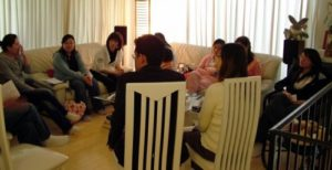Small Group Meeting in Home